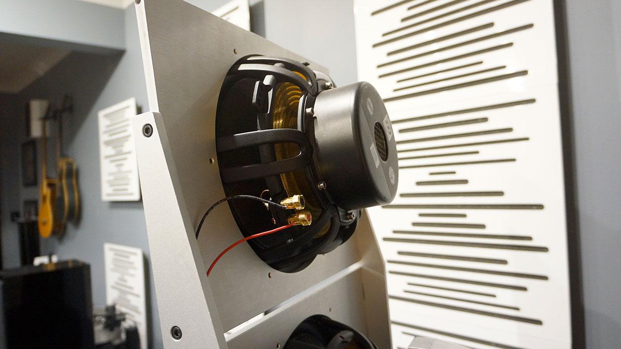 PureAudioProject Stellar12 Loudspeakers Rear