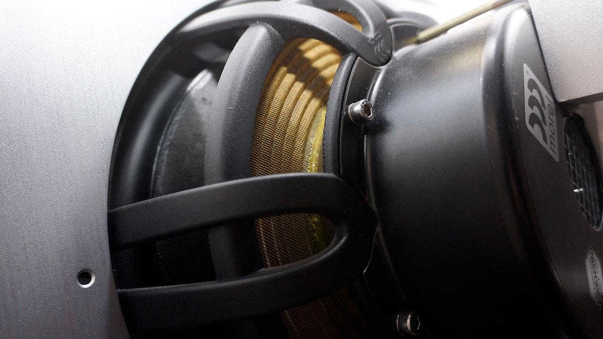 PureAudioProject Stellar12 Loudspeakers Morel Woofer