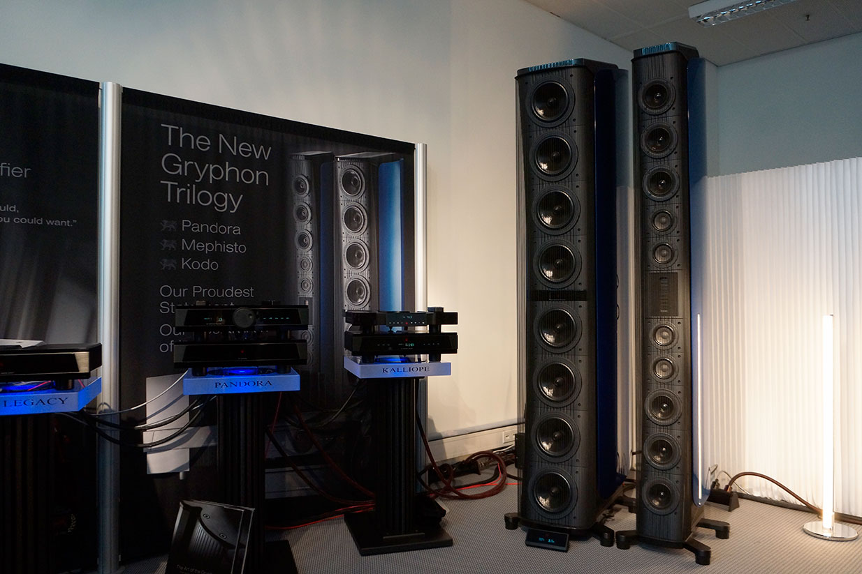 Gryphon Audio Designs at Munich High End 2017