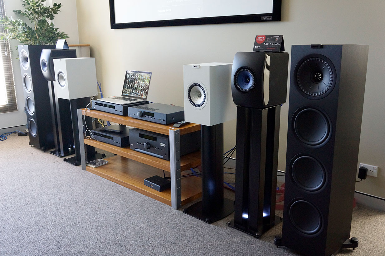 KEF Q Series Launch, Sydney 2017