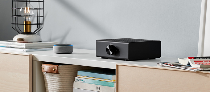 ALEXA HI-FI STREAMING WITH ECHO LINK AND ECHO LINK AMP