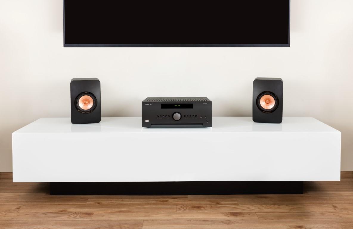Arcam SR250 with KEF LS50 Speakers