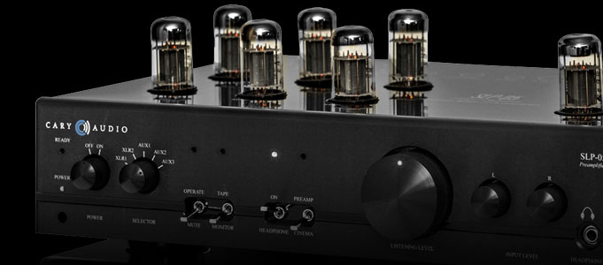 REVIEW: CARY AUDIO SLP-05 PREAMPLIFIER & CAD-120S MKII POWER AMPLIFIER