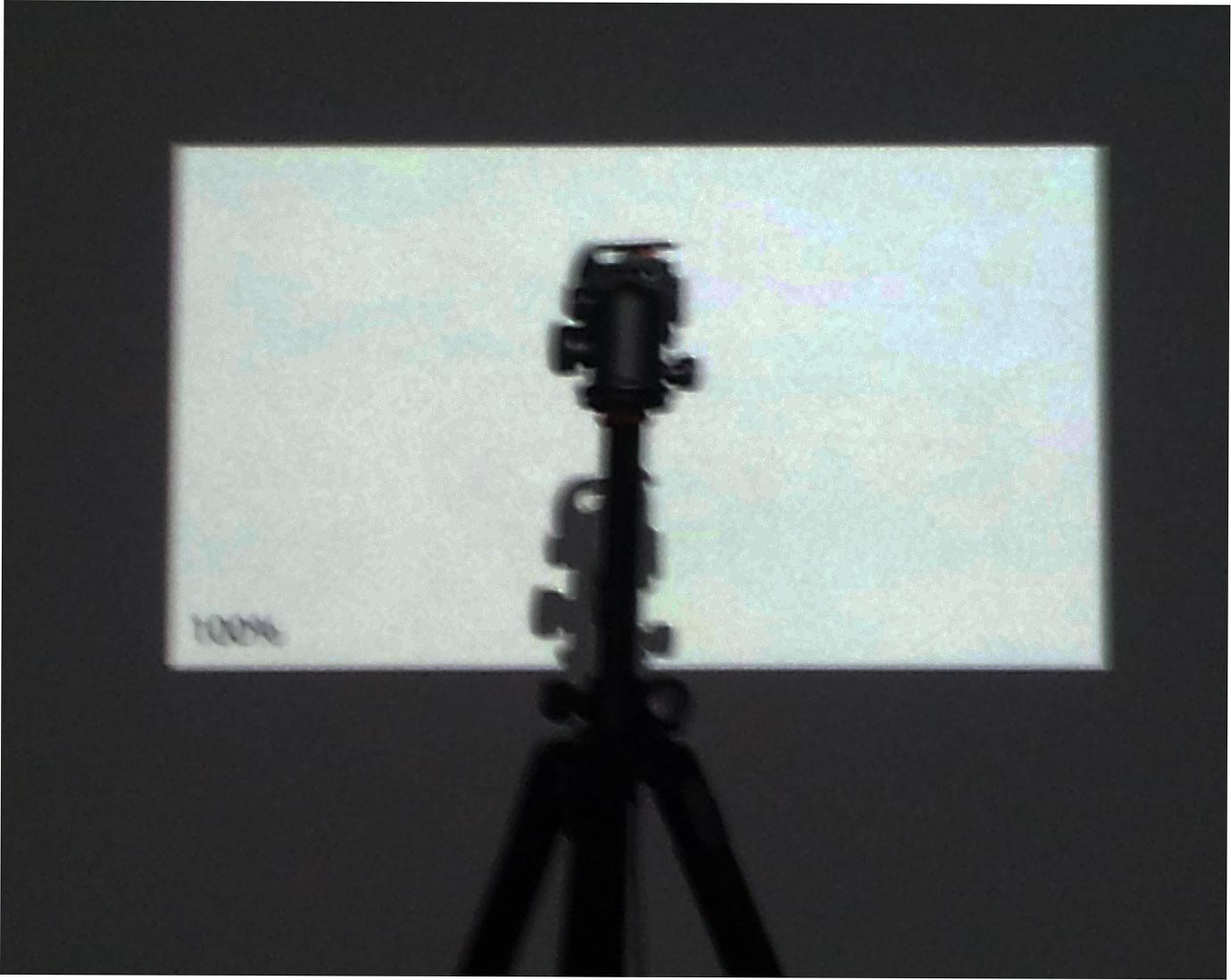 d3 colorimeter calibrating projector