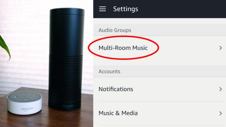 Amazon Alexa Multi Room Audio