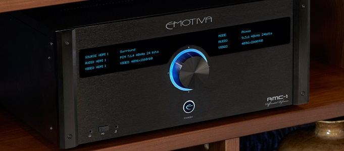 EMOTIVA RMC-1 16-CHANNEL FLAGSHIP PROCESSOR NOW AVAILABLE