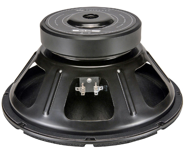 Fig 1 – Eminence Delta 12 woofer used for the test.