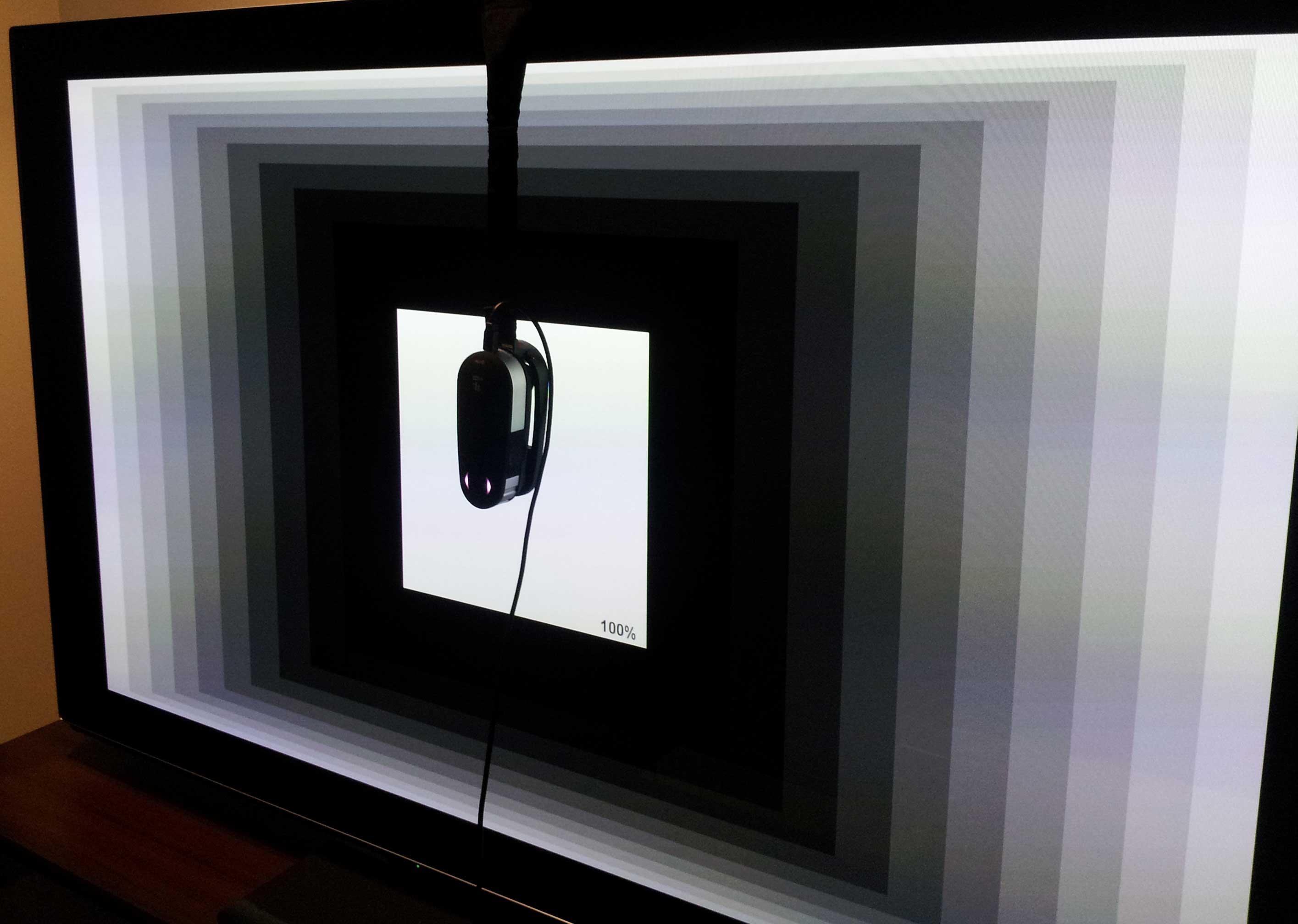1 pro 2 spectroradiometer calibrating plasma TV