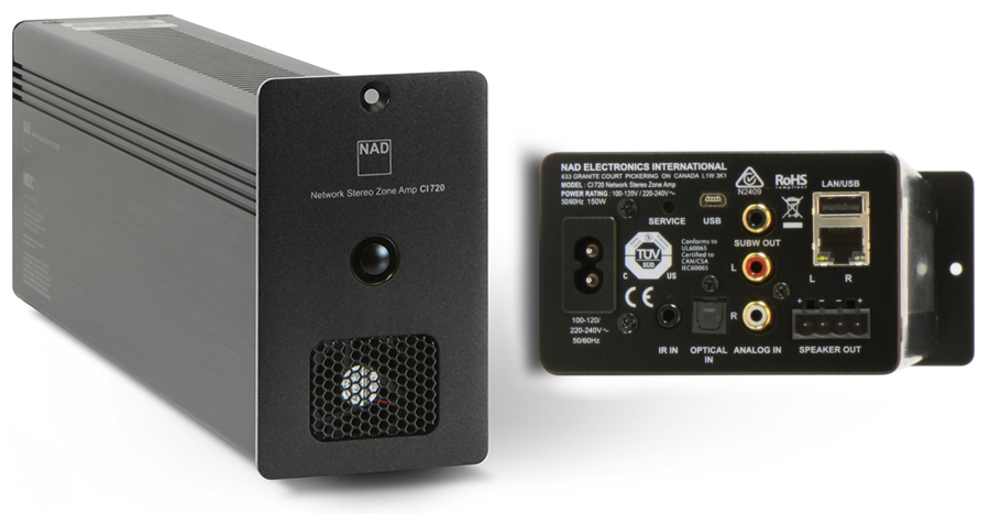 NAD Custom Installation CI 720 Stereo Network Amplifier