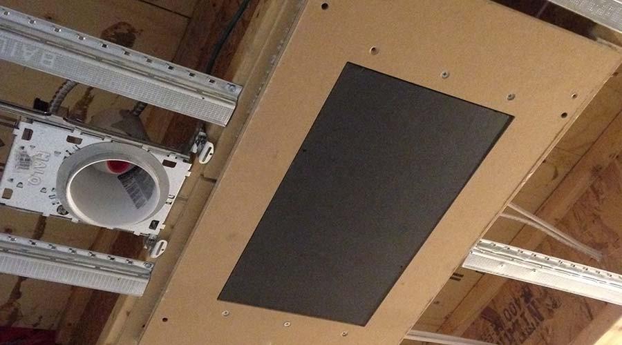 Nakymatone Ceiling Install