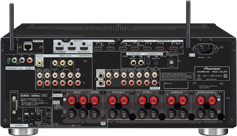 Reviewed: Pioneer SC-LX59 AV Receiver