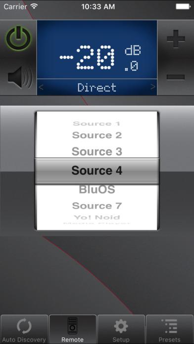 NAD Remote App