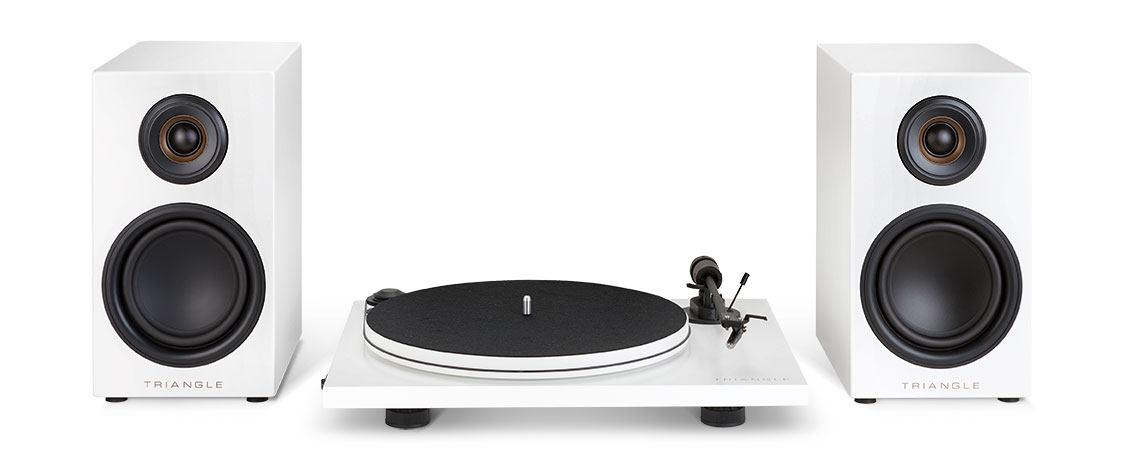 Triangle Active Speakers & Turntable Pack