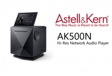 Astell&Kern AK500N Hi-Res Music Server