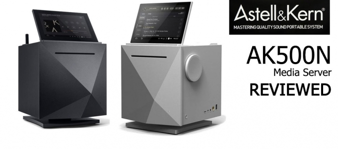 Astell&Kern AK500N Music Server Review