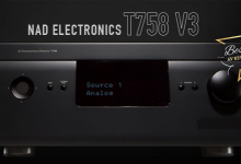 REVIEW: NAD ELECTRONICS T 758 V3 AV RECEIVER