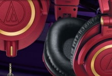 AUDIO-TECHNICA RELEASES LIMITED EDITION ATH-M50XRD