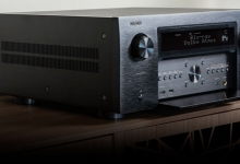 DENON'S FLAGSHIP 13.2 CHANNEL AV AMPLIFIER AVAILABLE THIS MONTH