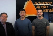 ONWARDS AND UPWARDS FOR ADVANCE AUDIO