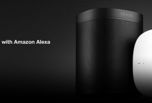 SONOS ONE SMART SPEAKER NOW AMAZON ALEXA ENABLED