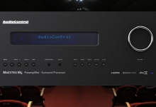 AUDIOCONTROL MAESTRO M5 PREMIUM HOME THEATRE PROCESSOR ANNOUNCED