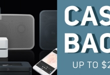 CASH BACK ON BLUESOUND