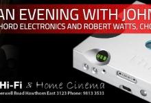 An Evening with John Franks at Tivoli Hi-Fi