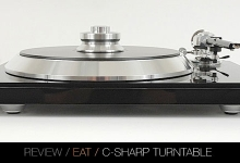 REVIEW: EAT C-Sharp Turntable