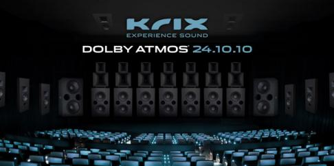 KRIX TO DEMONSTRATE WORLD-FIRST 24.10.10 DOLBY ATMOS