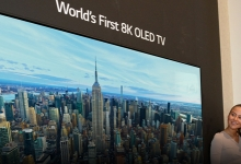 LG SHOWS NEW 8K OLED TV AT IFA BERLIN 2018