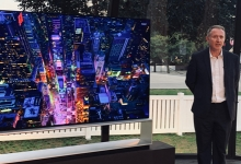 "FIRST LOOK: LG SIGNATURE 88"" 8K OLED TV"