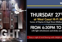 WEST COAST HI-FI MIDLAND INVITES YOU TO A SPECIAL EVENING