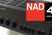 NAD CELEBRATES 45 YEARS OF AUDIO EXCELLENCE