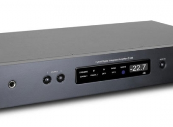 NAD COVERS ALL BASES, C338 INTEGRATED AMPLIFIER & BUILT-IN CHROMECAST