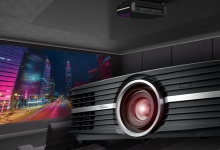 OPTOMA BRINGS 4K PROJECTION HOME