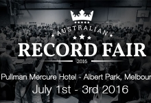 2016 Australian Record Fair, July 1st-3rd in Melbourne
