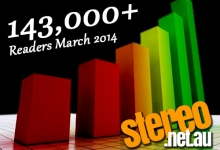 StereoNET Hits 140,000  Monthly Readers