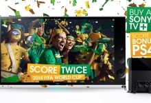 Sony's World Cup 4K TVs