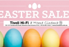 Tivoli HiFi's ONE DAY ONLY Easter Sale