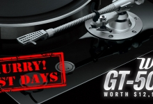 Win a Yamaha GT-5000 Turntable Worth $12,999!