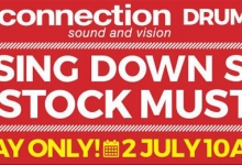 CLOSING DOWN SALE THIS SUNDAY AT AUDIO CONNECTION DRUMMOYNE STORE