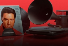 THE KOZMOPHONE TURNTABLE GOES BACK TO THE FUTURE