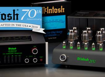 MCINTOSH CELEBRATES 70TH ANNIVERSARY WITH NEW PRE AND POWER VALVE AMPS