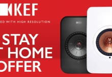 Staying Home? Invite KEF to the Party with 20% Off!