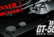 Yamaha GT-5000 Turntable Winner Announced
