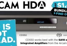 ARCAM SAYS LONG LIVE THE COMPACT DISC!