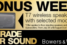 IT'S BONUS WEEK WITH BOWERS & WILKINS