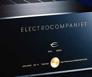 Electrocompaniet AW250 R Stereo Power Amplifier Review