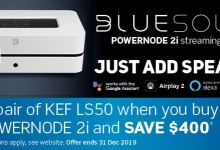 Power Up with Bluesound and KEF's 'Just Add Speakers' Promotion