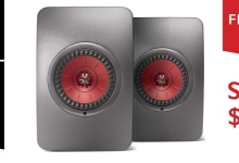 JOIN THE KEF FAMILY AND SAVE $500 ON LS50 WIRELESS